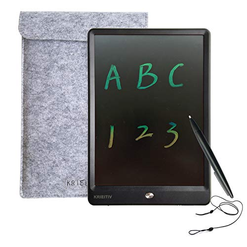 KRIEITIV LCD Writing Tablet 10 inch Colour Screen Rainbow...