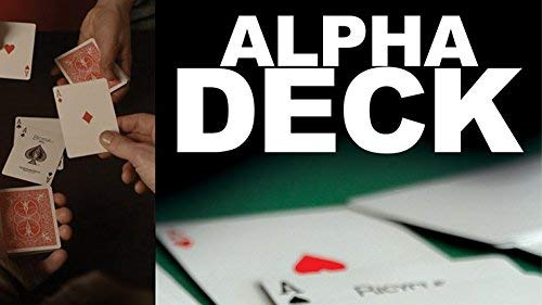 Alpha Deck Cards and Online Instructions by Richard Sanders Trick