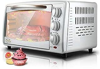 Horno de encimera GJJSZ,horno de vapor,diseño de tarjeta de tres capas,forro galvanizado,pastel de huracán de 8 pulgadas/pizza de 9 pulgadas,incluida bandeja para hornear,red a la parrilla,bandeja par