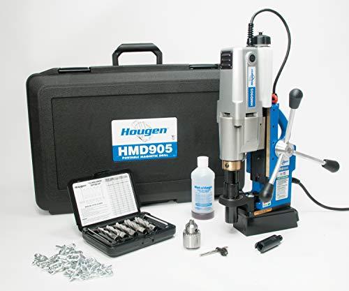 Hougen HMD905S 115-Volt Swivel Base Magnetic Drill with Coolant Bottle Plus 1/2