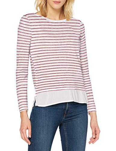 Springfield 6764851T8 T-Shirt, Blanco, M Womens