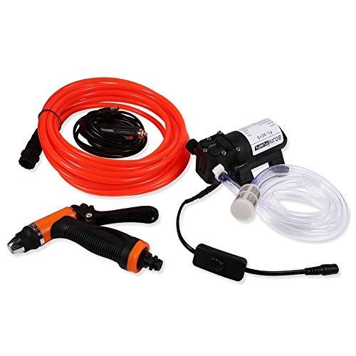 12V Mini Wasserpumpe Spritzpistole für Auto Hochdruckpumpe Elektrische Autowäsche 80W