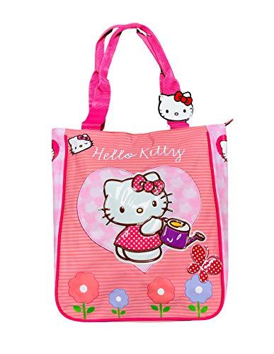 Hello Kitty Tasche mit Henkeln, 36 x 31 cm