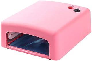 lujiaoshout Lámpara de uñas UV LED de uñas de Arte Que Cura el secador Ligero del Gel del Clavo de la máquina con el Temporizador Ajustable Ajuste de 36W 220V estándar de la UE Herramientas de