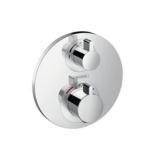 hansgrohe Ecostat S Unterputz Thermostat, für 1 Funktion, Chrom