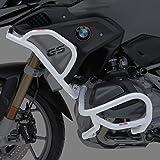 Defensas de Motor Set para BMW R 1250 GS 19-20 Motoguard L6 Plata