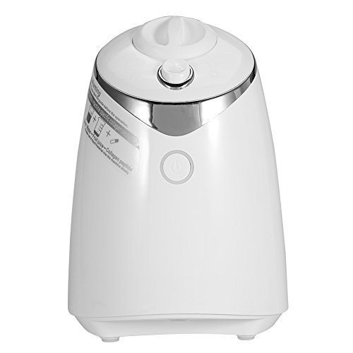Fruit Facial Mask Machine, DIY Natural Fruit Vegetable Face Mask Maker Face Care Fresh Collagen Beauty Machine (White)