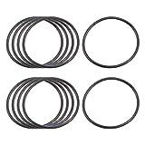 Sepikey Guarnizioni di Tenuta O-Ring in Gomma nitrilica Nera da 10 Pezzi (36 * 40 * 2mm) Resistenti agli olii Fluido Idraulico e Acqua