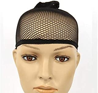 Stretchable Mesh Wig Cap Mesh Weaving Wig Hair Net Making Caps synthetic Hairnets