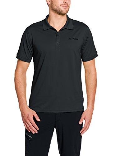 VAUDE Herren T-Shirt Marwick Polo II, Black, S, 40034
