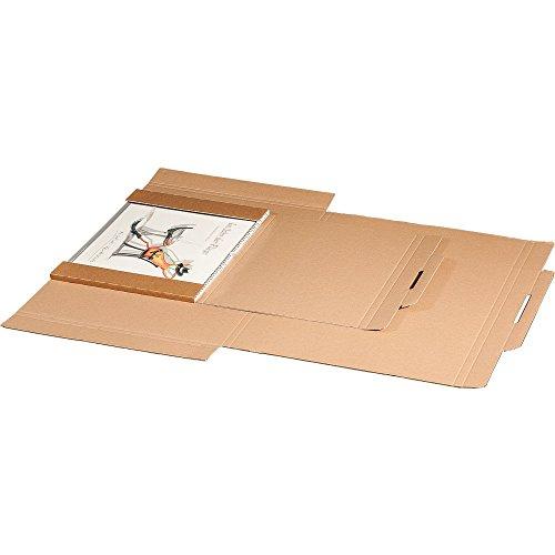 karton-billiger Kalenderverpackung, in A3 oder A2, 10Stück (A3-420 x 310 x 10mm)