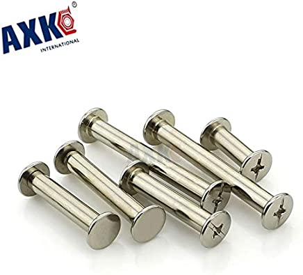 Fasteners Carriage Bolts Ochoos Tube Corner Connector Bronze