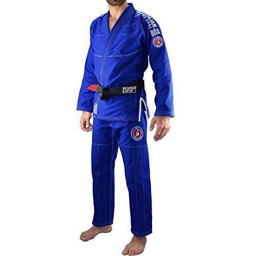 Bõa BJJ Gi Kimono Jogo No Chão 3.0 Azul - Azul, A1