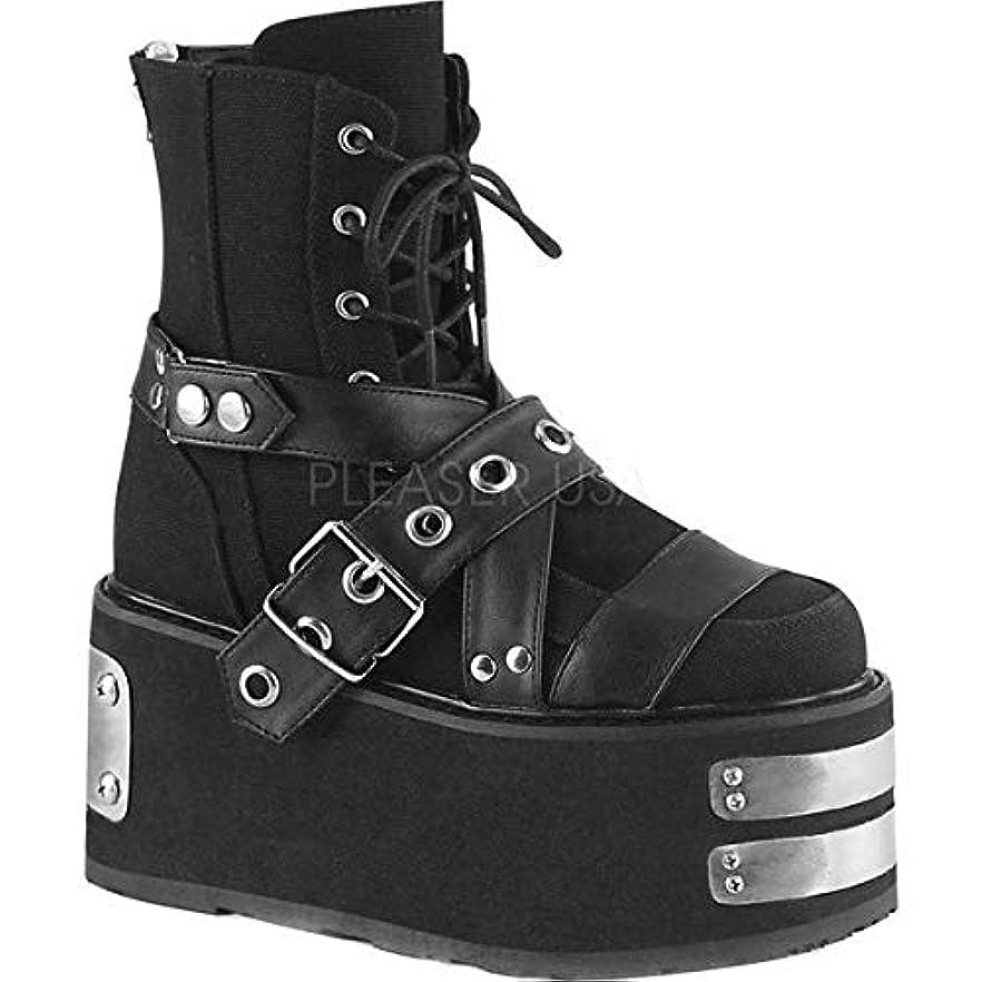 ペナルティバイオリン充実[デモニア] レディース ブーツ&レインブーツ Damned 116 Platform Ankle Boot [並行輸入品]