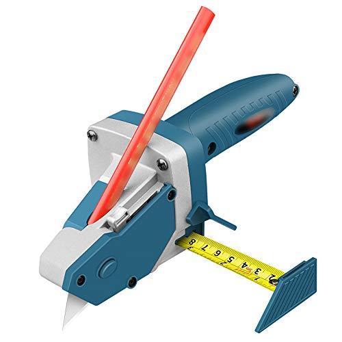 PUTOWUT Schneidwerkzeug für Gipskartonplatten für die Holzbearbeitung Trockenbau-Schneidartefakt-Werkzeug Trockenbau Gipskarton Schnellschneider mit 5 Klingen 5M Tape