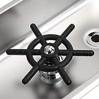 カップワッシャー、マルチアングルデザインカップリンサー使いやすいお手入れが簡単さびない外観、バスルーム用キッチン用ステンレス素材
