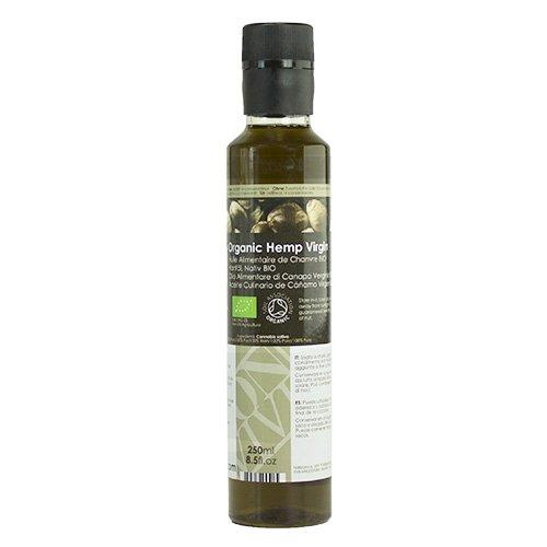 Olio Alimentare di Semi di Canapa Vergine Biologico - 250ml
