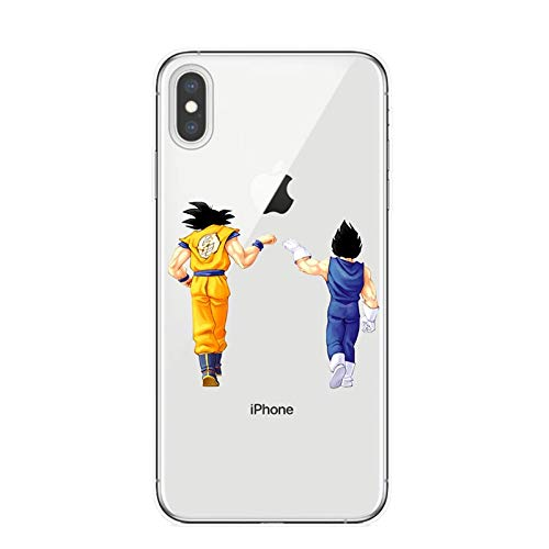 lucky air Dragon Ball Z Super DBZ Goku DBS Fashion Apple Funda iPhone Phone Case Funda Shell T5766 For Funda iPhone 7/Funda iPhone 8
