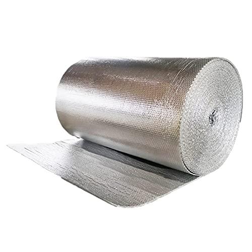 Lamina Isolante Per Radiatore Autoadesiva Isolamento Termico Per Radiatore Lamina, Per Avvolgere Tubi Isolamento Termico Termosifoni Tetti Pareti Pavimenti Foglio Isolante Allum(Size:1x10m 3.2x32.8ft)