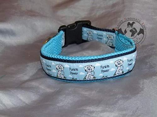 Hunde Halsband Punkte Power Dalmatiner