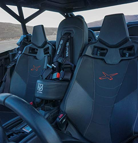 Maverick X3/X3 MAX Bump Seat with 4-point Harness   Center Seat   Middle Seat   Kid Seat   Hump Seat