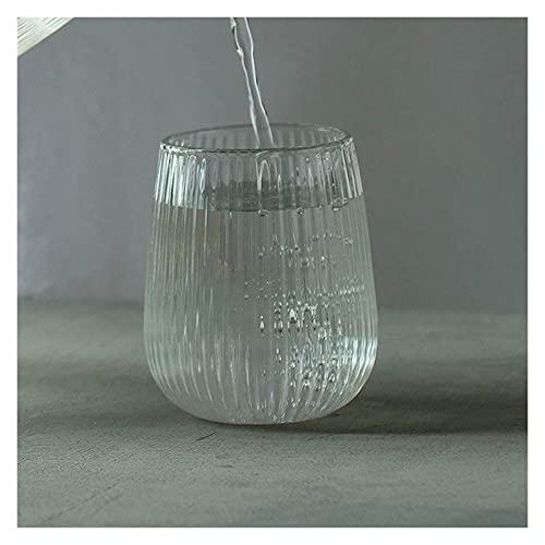 QIXIAOCYB Jarra de agua de vidrio transparente con diseño de creatividad, resistente al calor, hervidor de agua frío de gran capacidad, jarra de agua con tapa (color : taza)