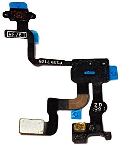 Smartex Cable Interior por Boton de Encendido Compatible con iPhone 4S – Conector Flex para Power ON Off, Volumen, Mudo, Sensor de Luz e Proximidad