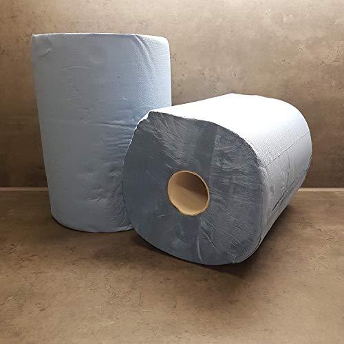 Putztuchrolle Putzrolle Putztuch Putzpapier 2 Rollen 1000 Blatt 36x36 cm von Powerpreis24® (0,038€/Meter)
