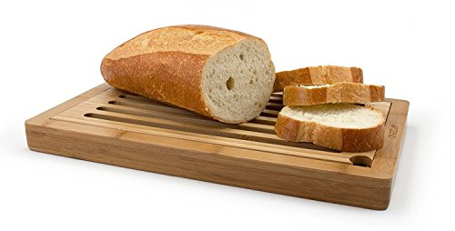 Oneida Bamboo Slotted Bread Board