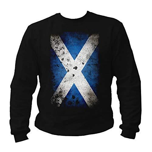 P-T-D Sweatshirt Herren Scotland Schottland Pullover (XL)