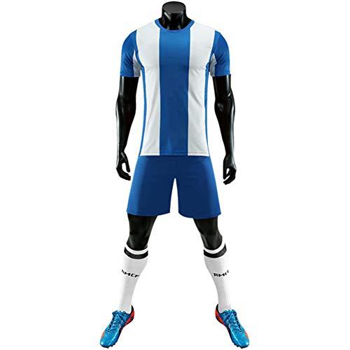 CJF España Home Training Ropa Deportiva, Camiseta de fútbol + Shorts Jersey de fútbol para Hombre, con Secado rápido Transpirable, para jóvenes y Adultos,Spain,22