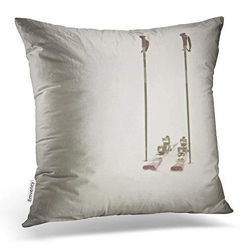 Emvency Housse de Coussin carrée en Coton et Polyester avec Fermeture éclair dissimulée pour Chambre à Coucher et canapé 40 x 40 cm, Coton, Multi 5, 16x16