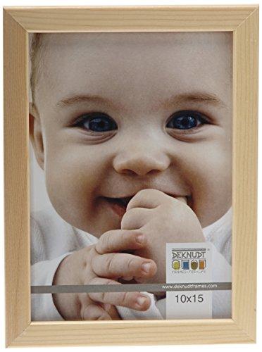 Deknudt Frames S41JH1 Cadre Photo Bois Fin Naturel 10 x 15 cm