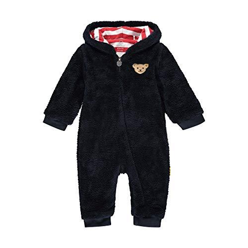Steiff Baby-Jungen mit süßer Teddybärapplikation Pyjamaset, Navy, 050