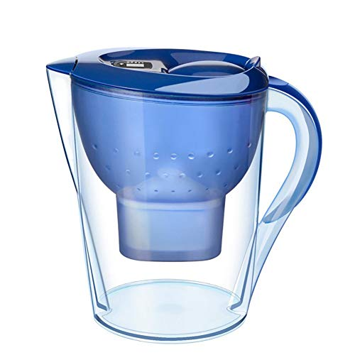 NZHK Jarra de filtrado de Agua, Jarra De Agua Alcalina Filtro Casero De La Cocina De Carbón Activado Filtro De La Caldera