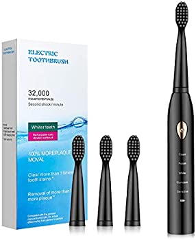FIIHOIZ Electric Toothbrush for Adults with Powerful Sonic Cleaning