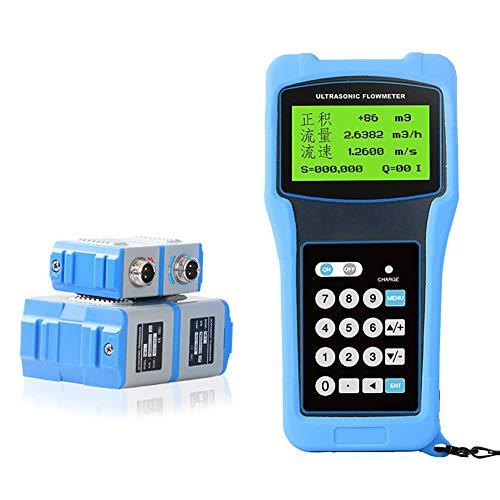 Clicke Tragbares Ultraschall-Durchflussmessgerät für eine Vielzahl von Anwendungen in der Rohrmetallurgie, Wasserversorgung und Entwässerung, Energieerzeugung usw,M/Probe