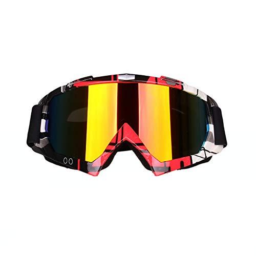 DDDD store Gafas para Hombre y Motocicletas Gafas Protectoras UV Gafas para Hombres y Mujeres