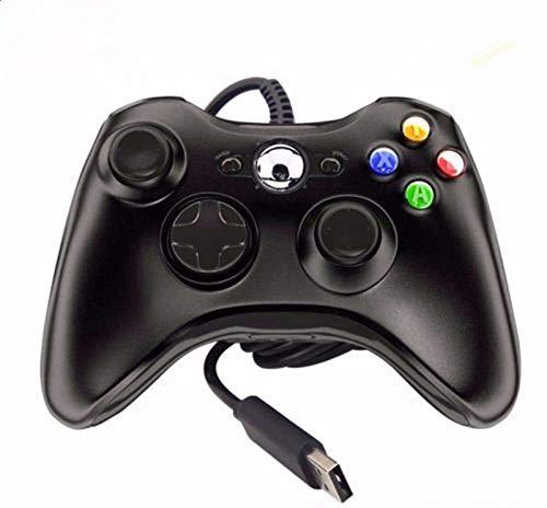 HpyAlwys Xbox 360 Controller-Spiel-Pad mit Kabel, für Microsoft Xbox 360 PC Windows UK