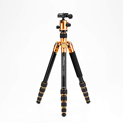 MeFoto A1350Q1C Roadtrip kompakt Stativ kit 1 in Aluminium orange