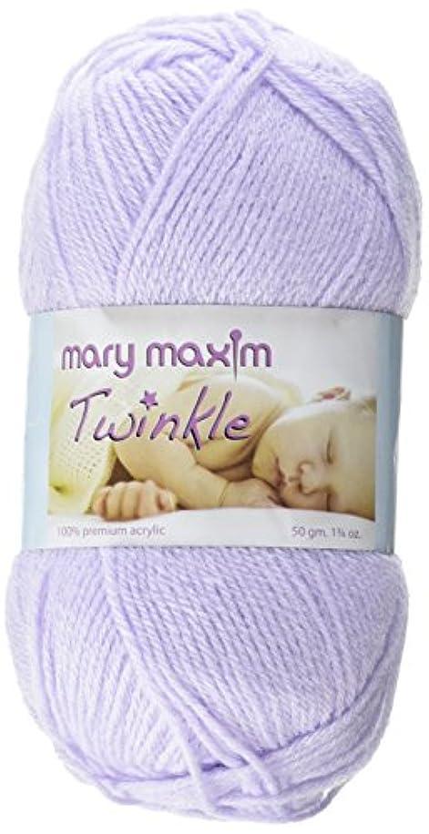 Mary Maxim 599004 Twinkle Yarn-Lilac