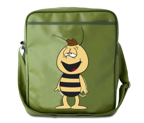 Logoshirt Biene Maja-Willi, Damen Umhängetasche, grün - Olive claire - Größe: Einheitsgröße