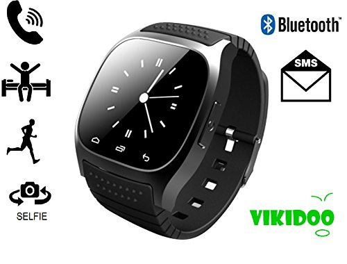 M26 SMARTWATCH TOUCHSCREEN BLUETOOTH orologio VIVAVOCE compatibile con android e IOS - NERO