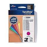 BROTHER LC-223 - Cartucho de tinta magenta capacidad estándar 550 páginas 1 paquete