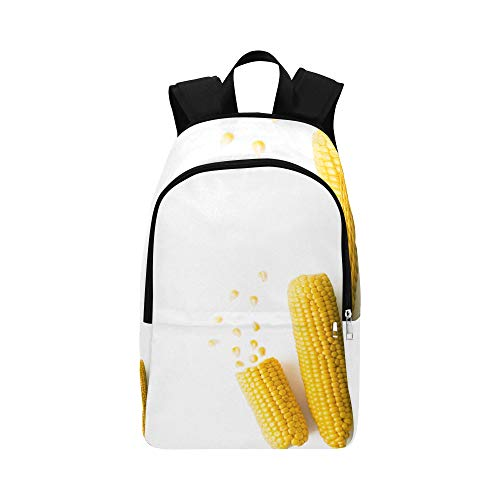 ZXWXNLA Day Hike Bag Coveted Yellow Corn Plant Durable Water Resistant Classic Wash Travel Bag Hiking Book Bag Toddler Sport Bag Best Backpack