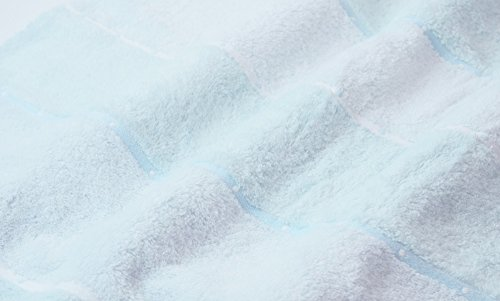 UCHINOバスタオルふわふわボーダー70×140cmブルー8836B669B