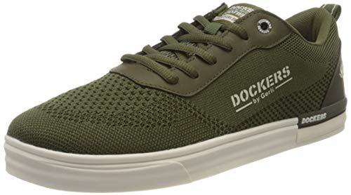 Dockers by Gerli 46pt004-700850, Zapatillas para Hombre, Verde (Khaki 850), 46 EU