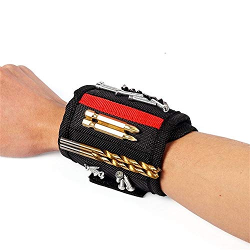 BGDRR Alta capacità Strumento Marsupio Tasche Elettricista Valigia Attrezzi Oganizer Trasporto Pouch Bag Strumenti Pocket Case Cintura (Color : Wrist Tool Kit)