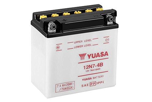 Preisvergleich Produktbild Motorrad Batterie YUASA 12N7-4B,  12V / 7AH (Maße: 137x76x135)