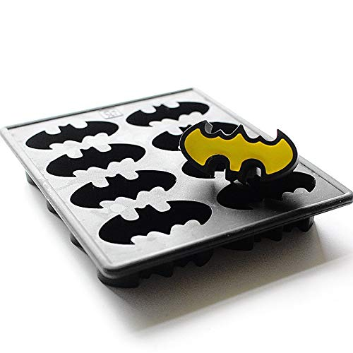 Eiswürfelschalen Batman Silikon Gefrierschrank Kuchenform Wachsmalstift Schokoladenseifenform Eiswürfelschale Fledermaus Flügel Comic Held Ideal Für Kinder Party